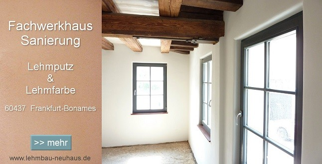 lehmbau neuhaus lehmputz fachwerkhaus sanierung mit wandheizung. Black Bedroom Furniture Sets. Home Design Ideas