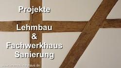 Lehmbau - Fachwerkhaus sanieren renovieren - Fachwerk mit Lehmsteine in Maintal und Langenselbold