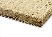 Lehmbauplatten, Plattenstärke: 16 mm und 22 mm, Plattengröße 1,00 m x 0,625 m.
