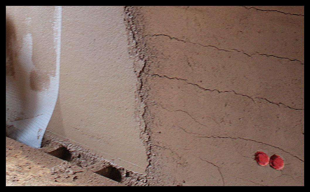 Lehmputz lehmfarbe und lehmfeinputz lehmbau neuhaus for Fachwerkwand innen