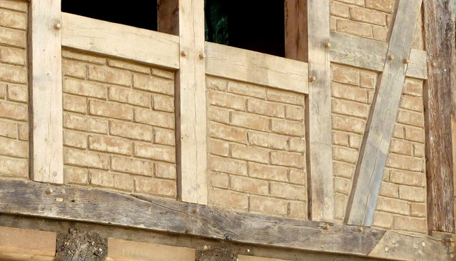 fachwerk ausmauern
