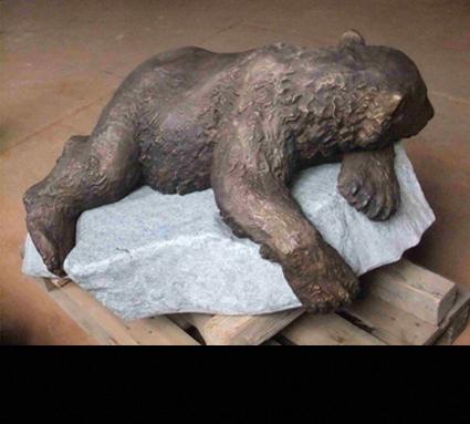 """""""Knut""""; Bildhauer Josef Tabachnyk; Standort: Berlin"""