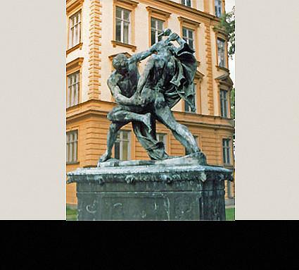 Ringergruppe, Stockholm; Standort: Stockholm, Museum; Bildhauer: Prof. Molin; Guß: Christoph A. Lenz