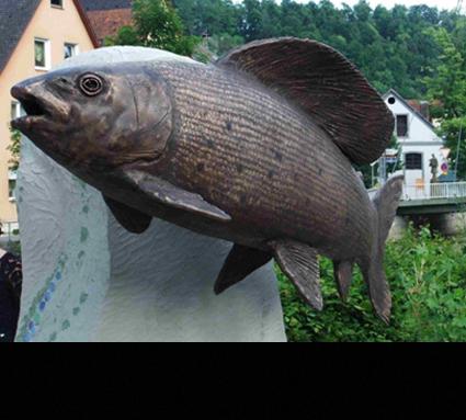 Bildhauer: Axel Luther; Standort: Waischenfeld