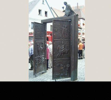 Bildhauer: Harro Frey; Standort: Forchheim