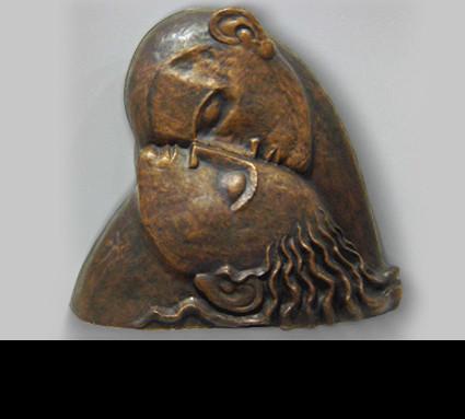 Bildhauer: Müller Felix; Standort: Neunkirchen a. Brand, Museum; Guß: Franz Jahn