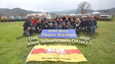10. Schwarzwälder VW-Bus-Treffen vom 12. bis 14. April 2013