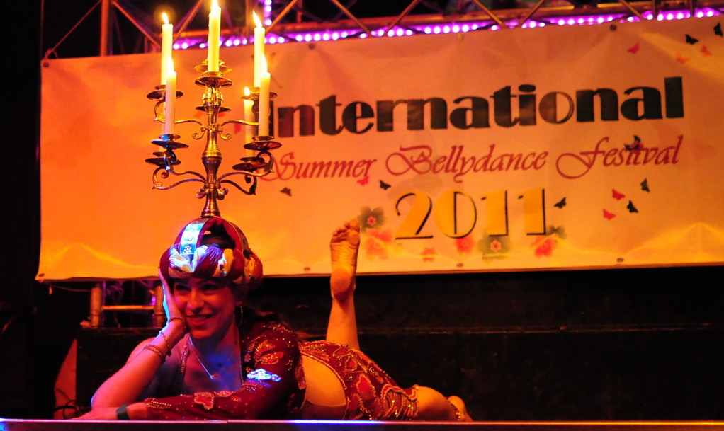 © Ronnos - Open Stage des International Summer Bellydance Festival