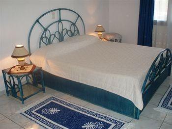 exemplarisches Schlafzimmer, auf Wunsch auch mit Einzelbetten