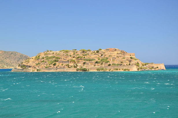 Spinalonga Island, nearby Elounda