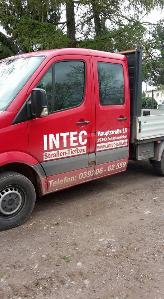 Einen herzlichen Dank an Fa. INTEC für die großartige Unterstützung