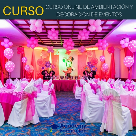 Cursos de decoracion para todo tipo de eventos for Decoracion de eventos