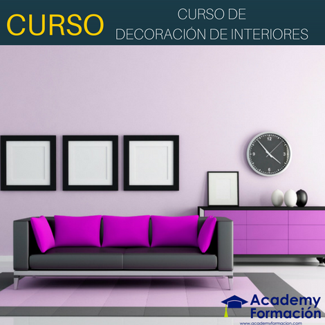 Curso de decoraci n de interiores cursos online for Curso decoracion interiores
