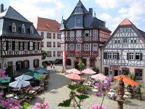 Marktplatz Altstadt Heppenheim