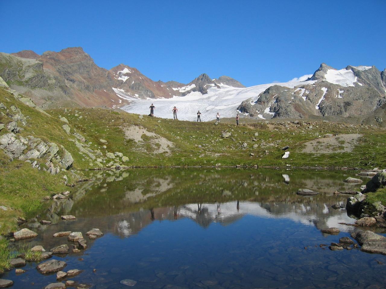 Silvrettagletscher und die Badeseen