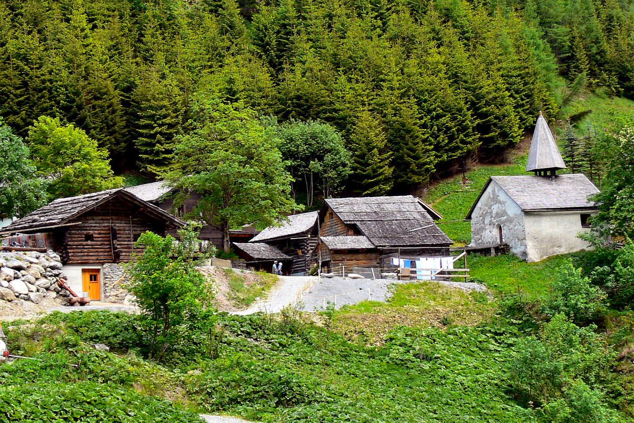 Walsersiedlung St. Martin, Calfeisental, Gigerwaldstausee