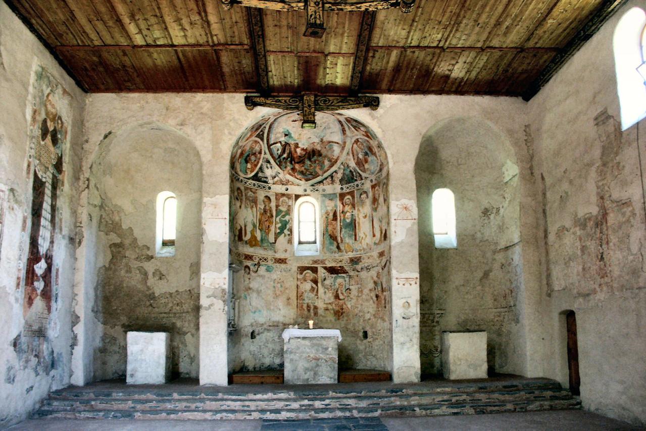Karolinische Kirche Sankt Peter bei Tiefencastel