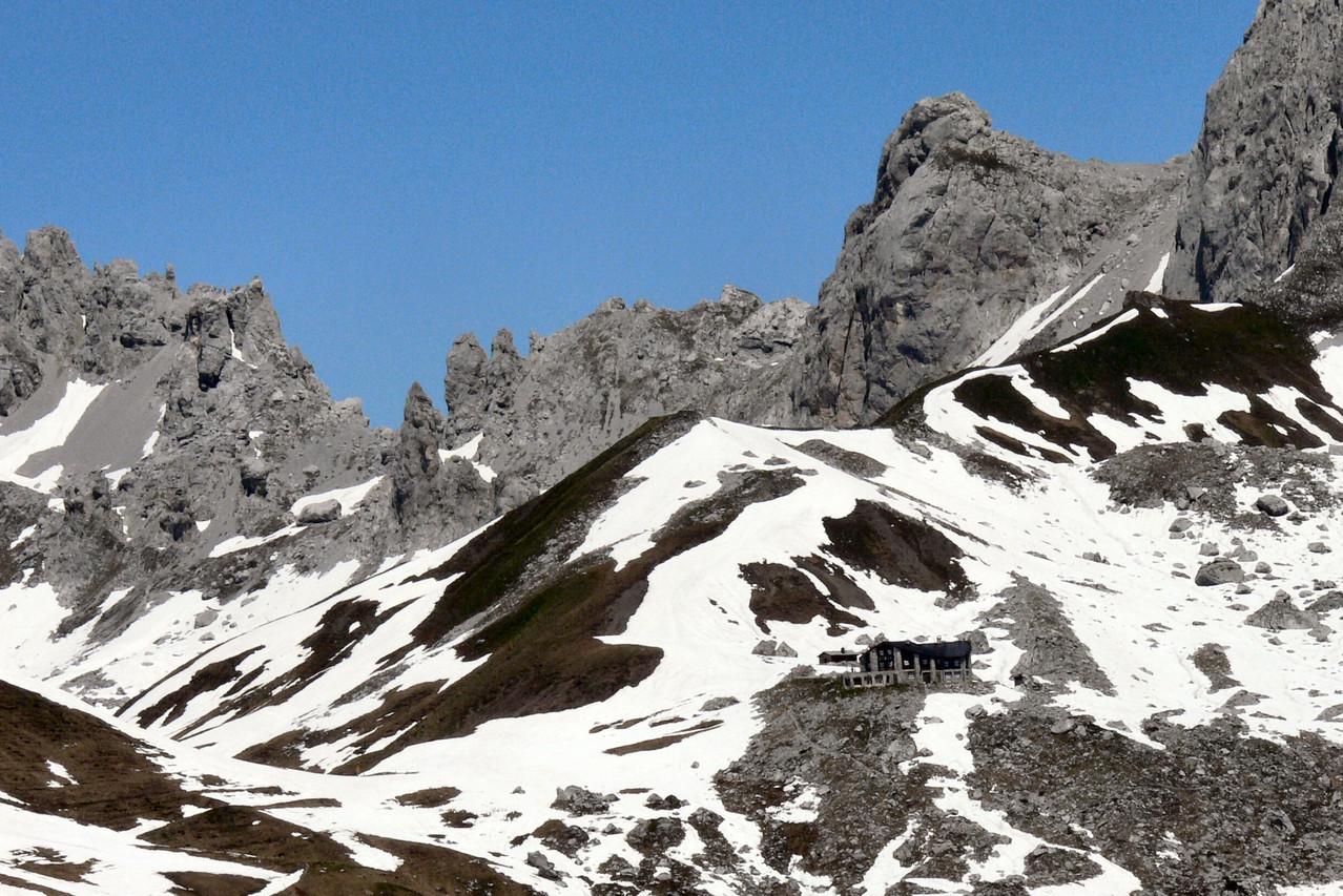 Carschinahütte: Prättigauer Höhenweg