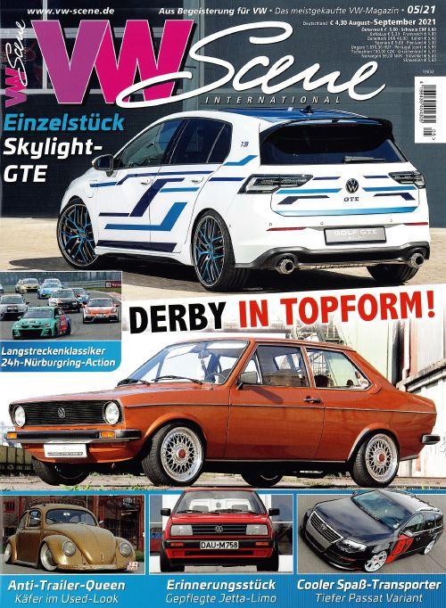 VW Scene Ausgabe 05/21 - 24h Nürburgring 2021