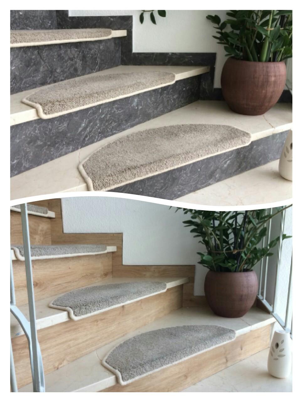 Treppengestaltung mit Vinyldesign -Böden
