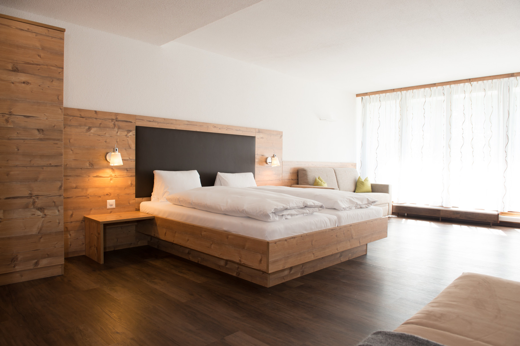 Ferienwohnung-Doppelbett