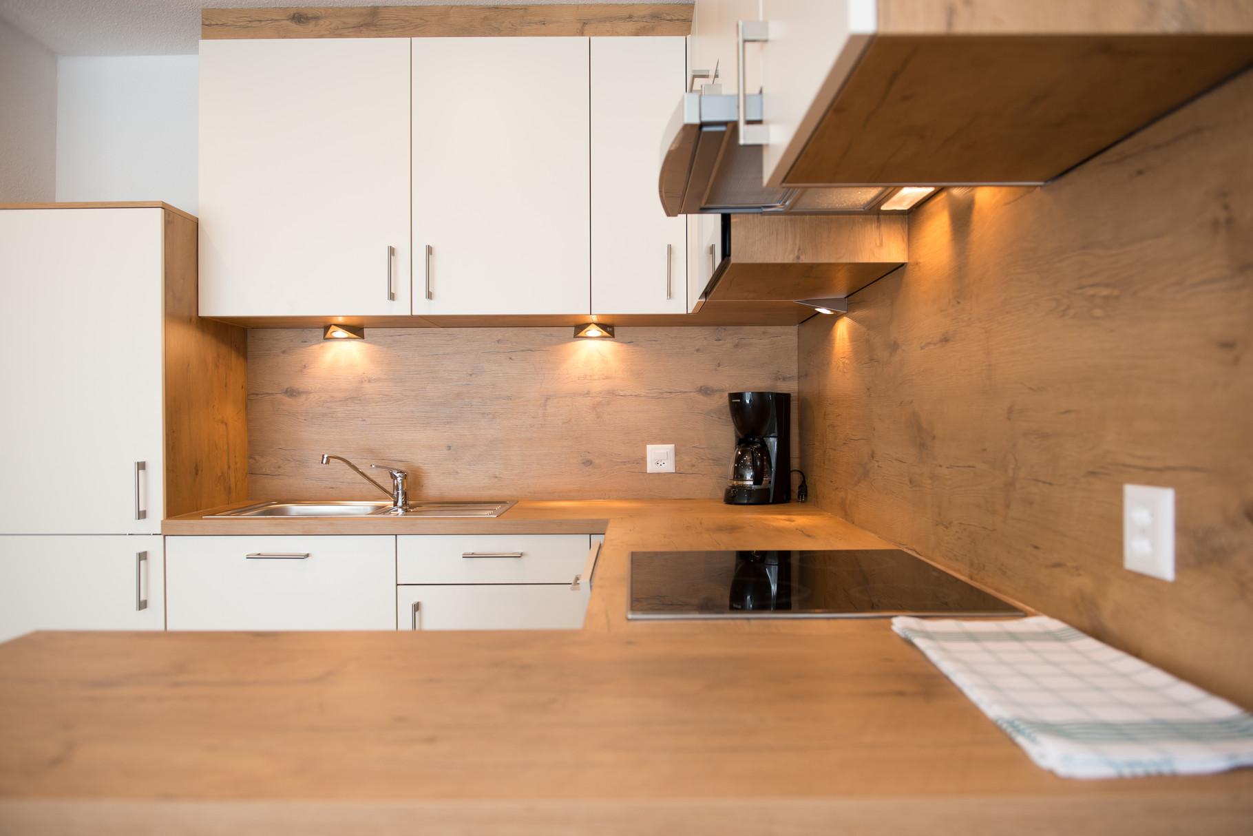 Ferienwohnung-Küchenzeile