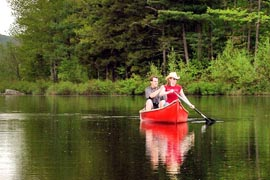 meilleurs spots canoe vassiviere