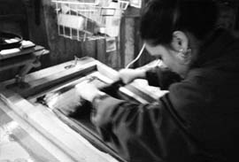 Un atelier d'artiste à la Ferme des Ânes