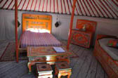 offer weekend in yurt
