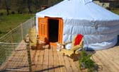yurt in limousin