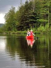 canoe lake vassiviere