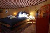 offer night in yurt