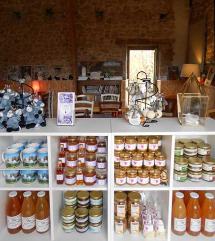 boutique âne et produits régionaux