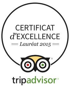 la Ferme des Ânes de Vassivière vient de recevoir son certificat d'excellence 2015.