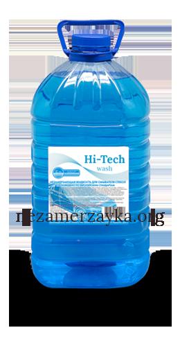 """Незамерзайка в ПЭТ бутылке """"Hi-Tech"""" 5 литров"""