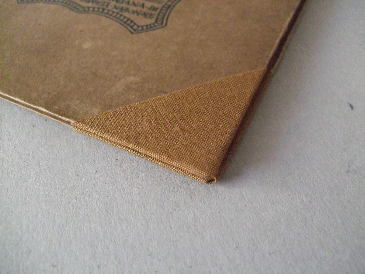 Particolare degli angoli a protezione del cartone
