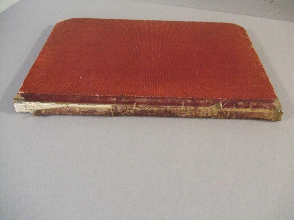 Stato in cui si presentava il volume prima del restauro