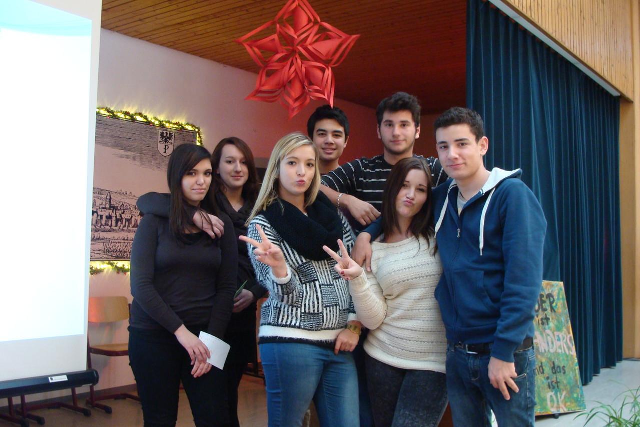 2013 12 Menschenrechtstageln an die Schüler der Pfrimmtal Realschule Plus