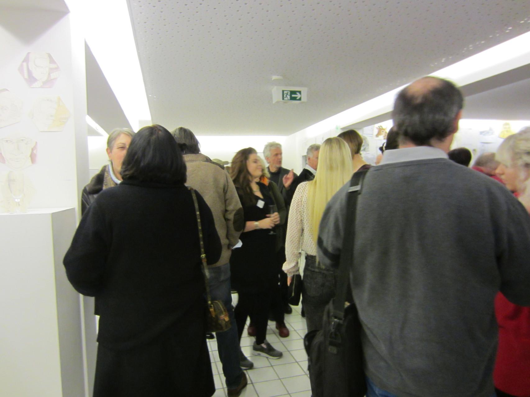 2015 02 Vernissage des Landeskunstgymnasium