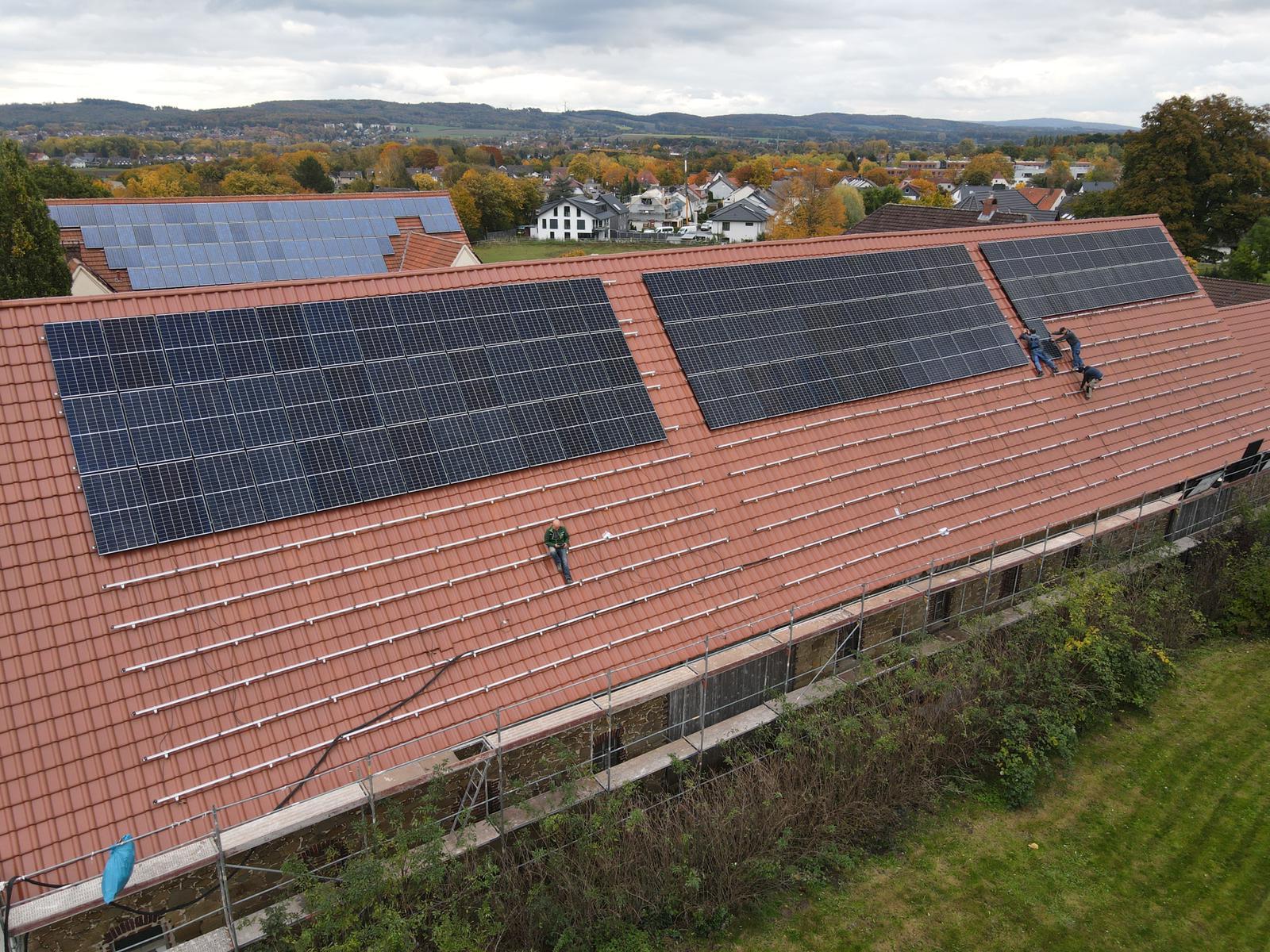 Photovoltaik für den Knollmannshof
