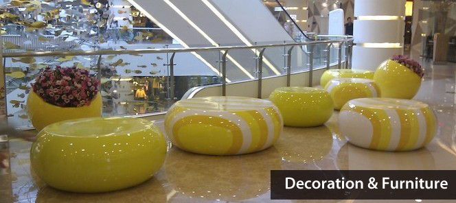 Mall Decoration & Furniture