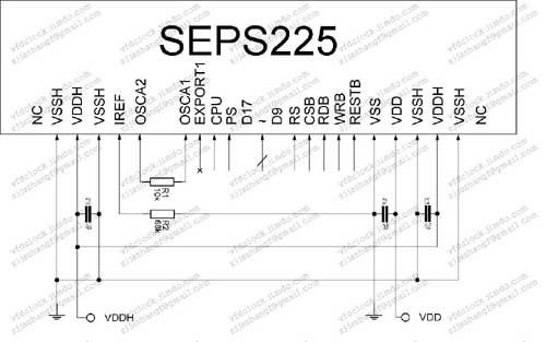 UG-2828GDEDF02模块原理图