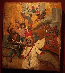 Die Steinigung des Erstmärtyrers Stephanus