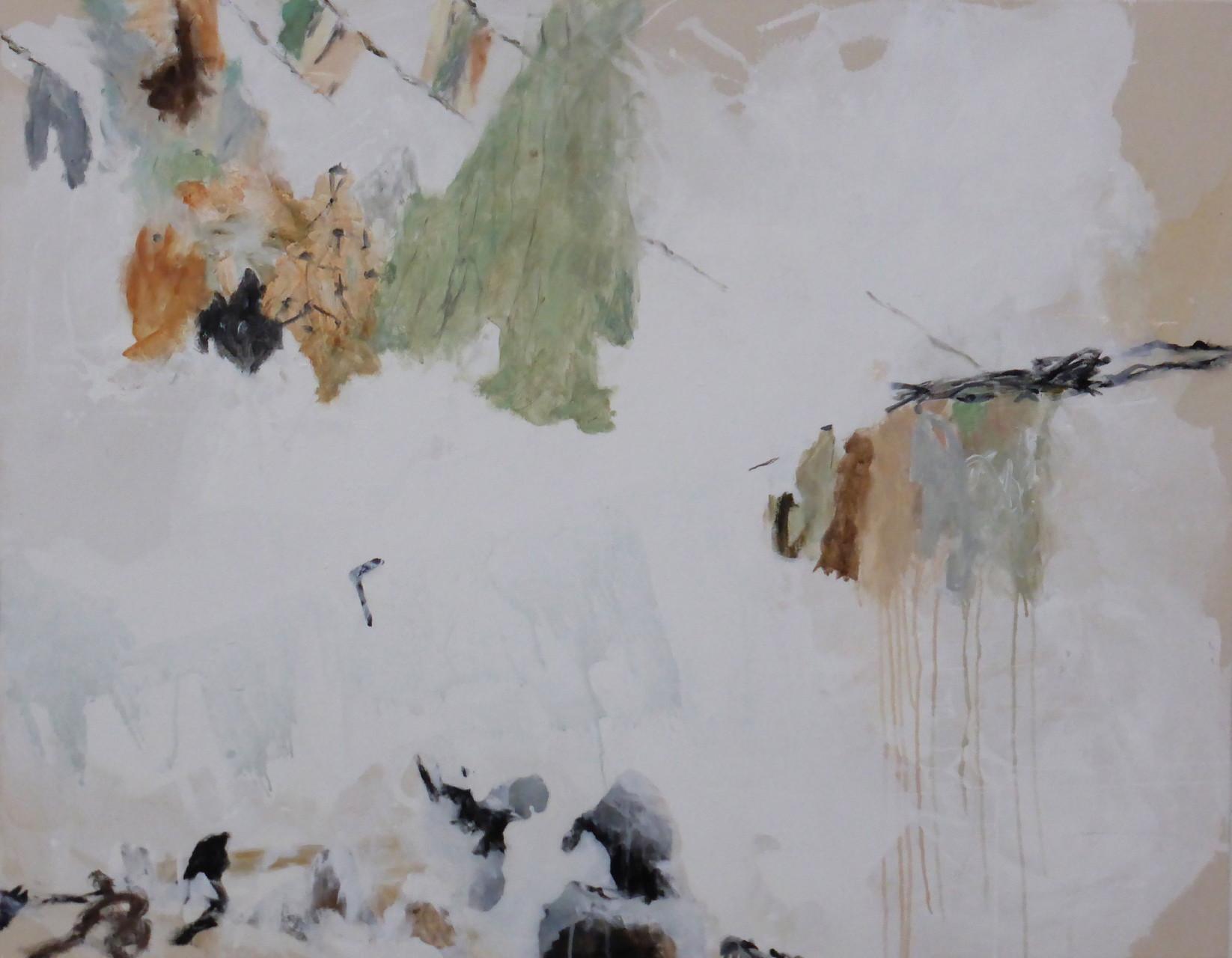 Hinter den Dingen II, Acryl/Lwd., 110 x 140 cm, 2013