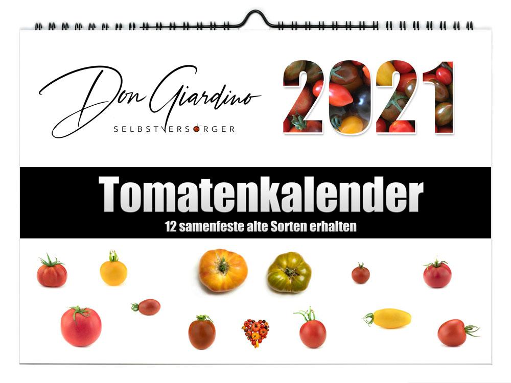 Tomaten Kalender - Alte Tomaten Sorten erhalten