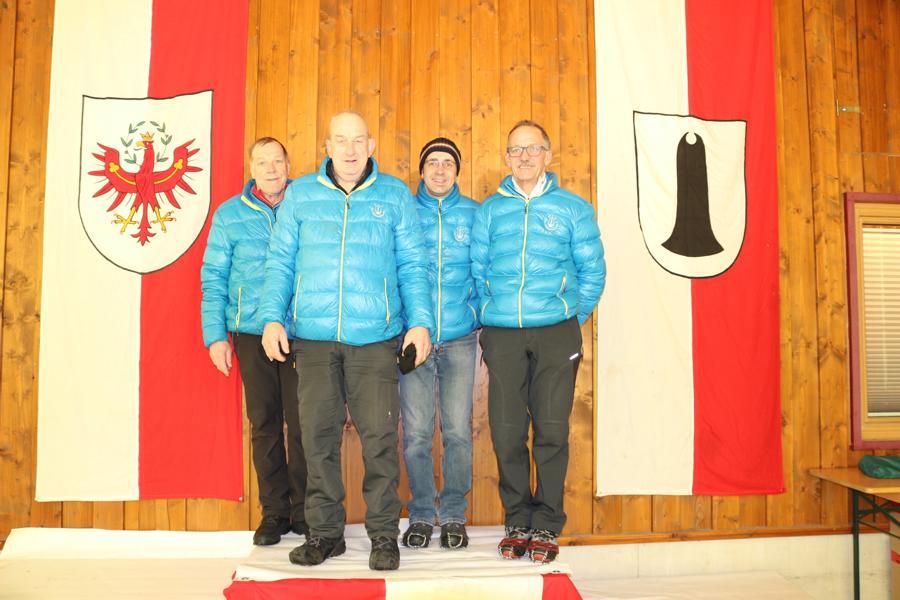 EV Fieberbrunn II - Erhart Christian, Hocfilzer Michael, Seisl Thomas, Holzmann Markus