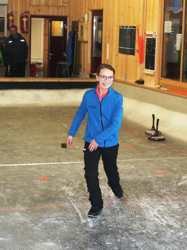Eva Schermer - U15 u. U18 Bezirksmeisterin