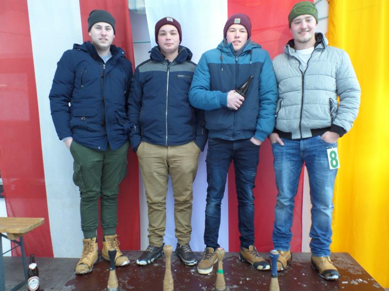 17. Platz: ESV Going III: Christian Erber, Florian Salfenauer, Johannes Resch, Stephan Resch
