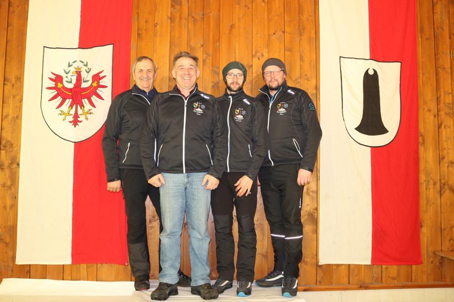 ESC Jochberg II - Noichl Fritz,  Luxner Martin, Pletzer Christoph, Pletzer Johann