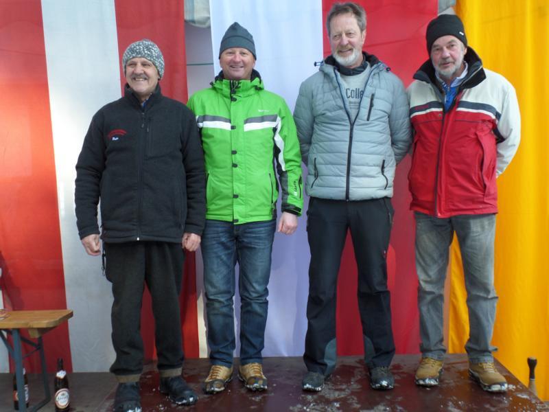 14. Platz: ESV Going II: Peter Pixner, Michael Salfenauer, Franz Wiedauer, Hermann Pletzer